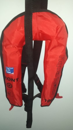 CHILD Lifejacket automatic inflatable MED 100N - Aqua Junior