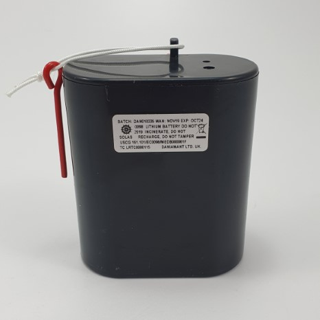 Rescue master 2b battery