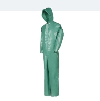 Chemical protection suit complete